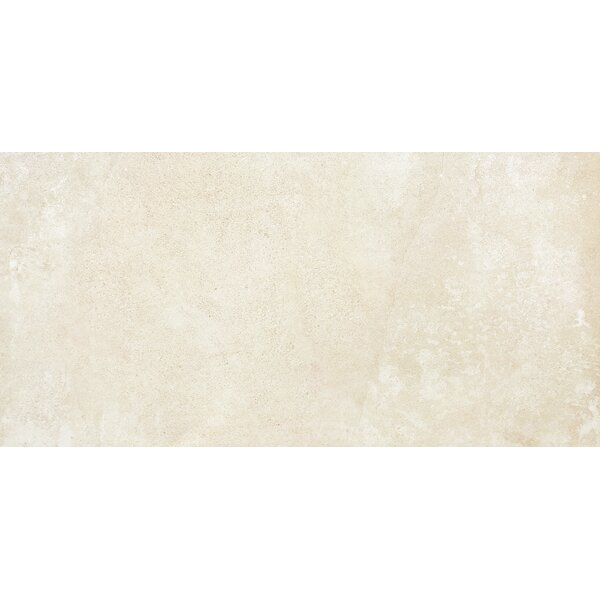Absolute 18 x 36 Porcelain Field Tile in Milk by Madrid Ceramics