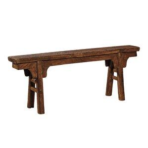Peasant Wood Bench by Furniture Classics LTD