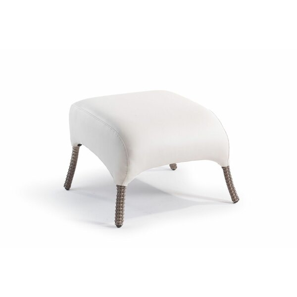 Dukinfield Outdoor Ottoman with Cushion by Corrigan Studio