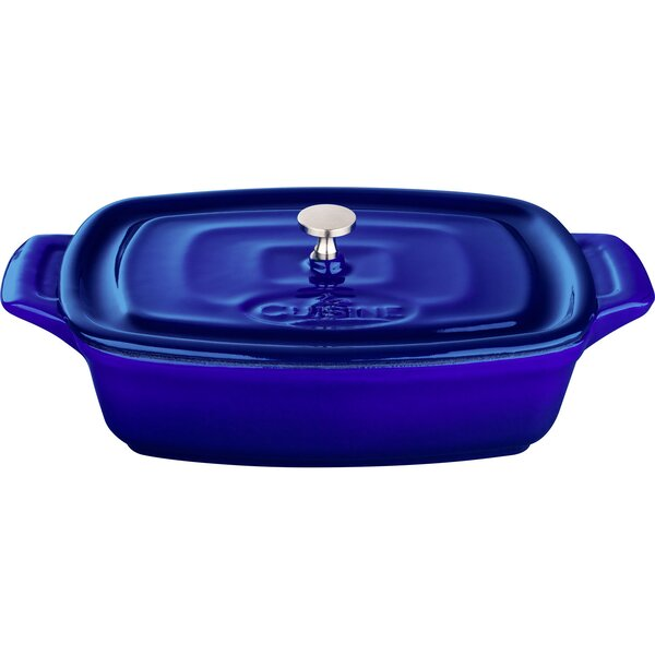 Mini Rectangular Cast Iron Casserole by La Cuisine