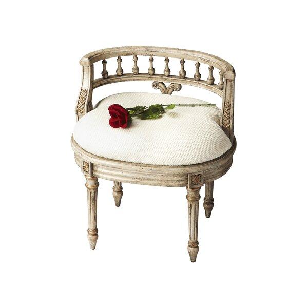 Kadine Vanity Seat by Astoria Grand