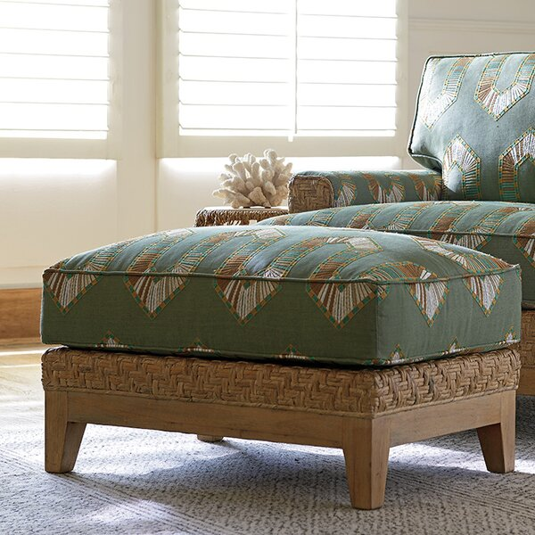 Los Altos Ottoman by Tommy Bahama Home