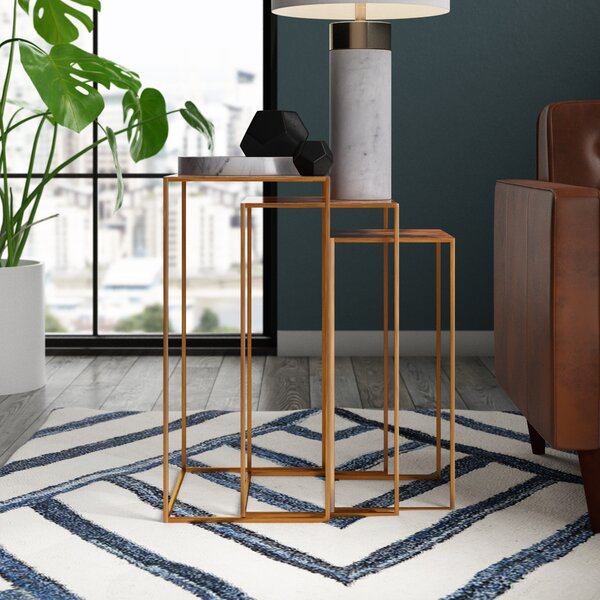 Kull 3 Piece Nesting Tables by Mercury Row