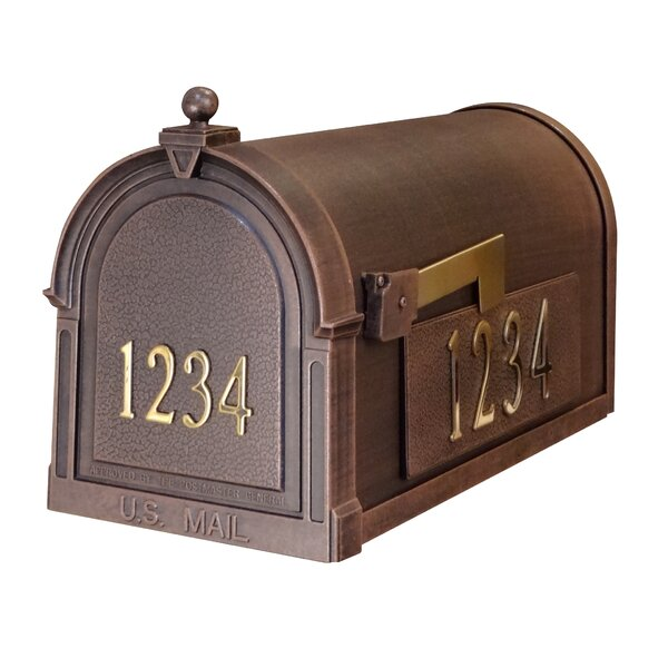 Berkshire Post Mounted Mailbox by Special Lite Products