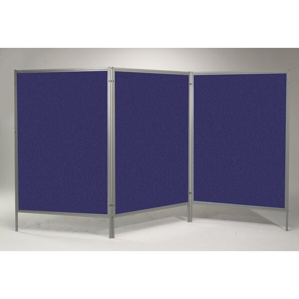 Portable Art Free-Standing Bulletin Board, 78 x 150 (Set of 3) by Best-Rite®