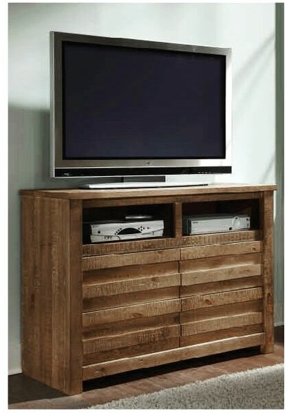 Bear Springs 4 Drawer Media Chest by Loon Peak