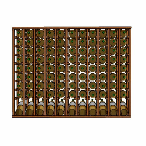 Lurmont Series 110 Bottle Floor Wine Bottle Rack by Rebrilliant Rebrilliant