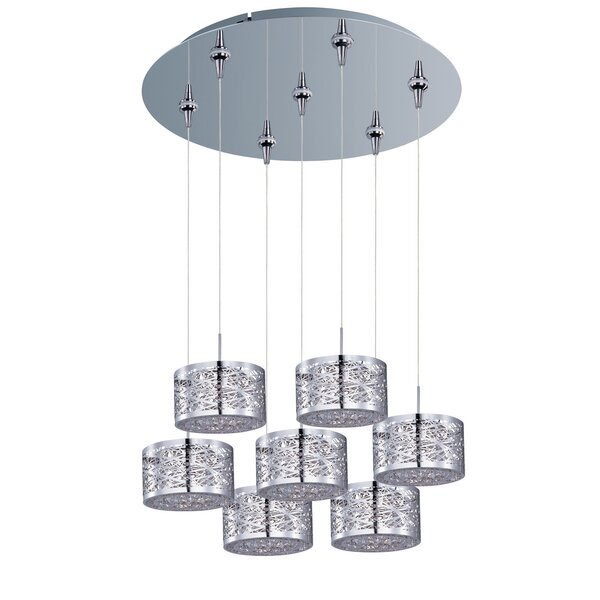 Mica 7-Light Pendant and Canopy by Zipcode Design