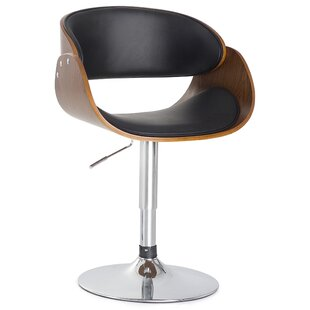 brianne height adjustable bar stool by home haus discount
