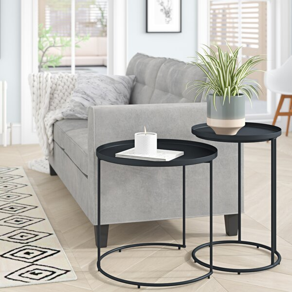 Higuchi 2 Piece Nesting Tables By Mercury Row