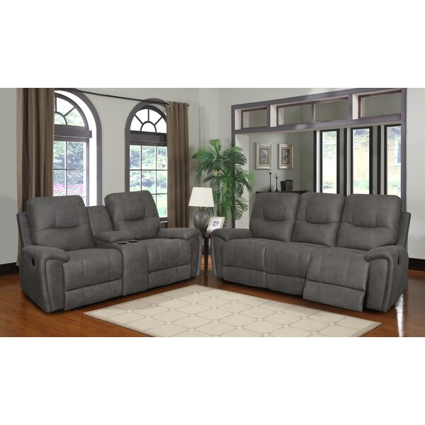 Rutter Reclining Configurable Living Room Set by Charlton Home