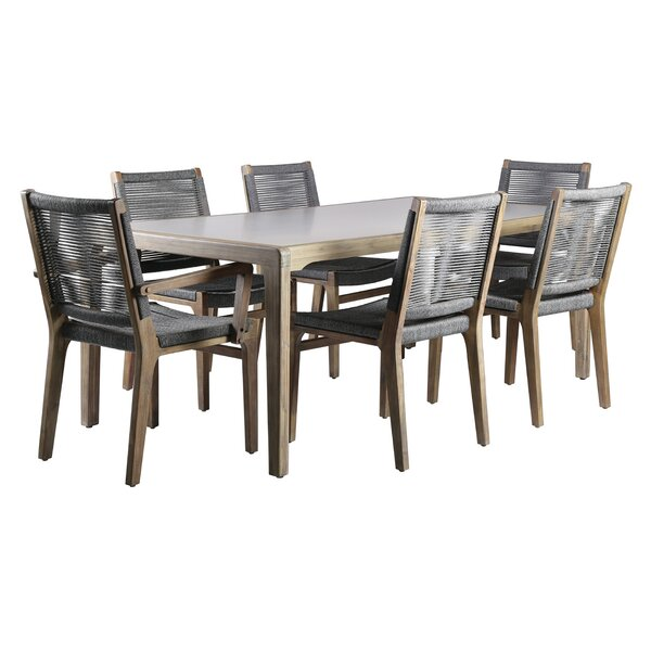 Explorer Oceans 7 Piece Dining Set by Seasonal Living