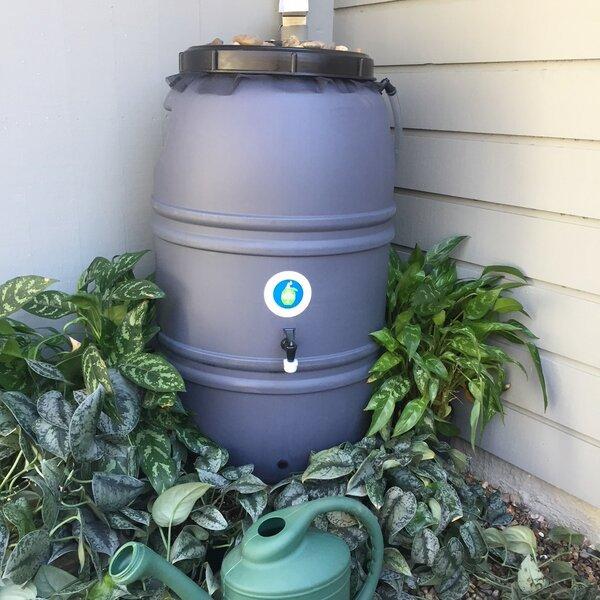 60 Gallon Rain Barrel by Great American Rain Barrel
