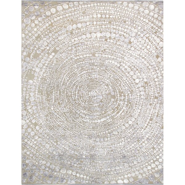 One-of-a-Kind Hand-Knotted Beige Area Rug by Pasargad