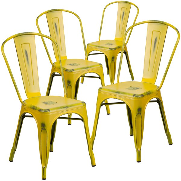 Ohman Patio Dining Chair (Set Of 4) By Gracie Oaks
