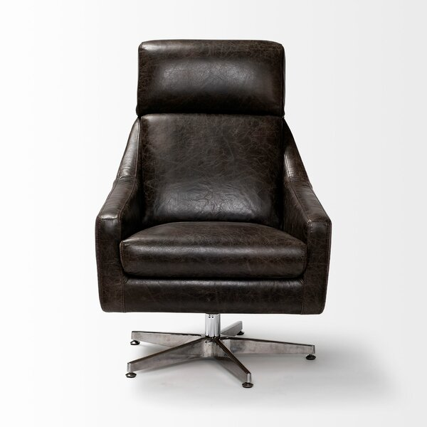 Nailsea Swivel Armchair by Orren Ellis Orren Ellis