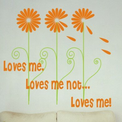 Personalized Loves Me Wall Decal by Alphabet Garden Designs