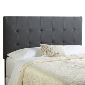 Dublin King Upholstered Panel Headboard by Alcott Hill