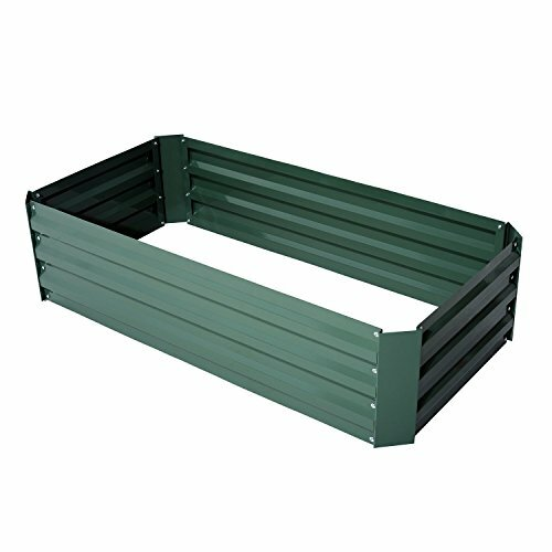 Luisa 2 ft x 4 ft Galvanized Steel Raised Garden by Williston Forge