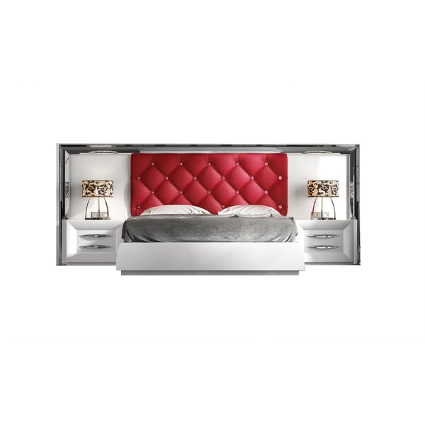 Jerri Upholstered Standard Bed By Everly Quinn by Everly Quinn Great price