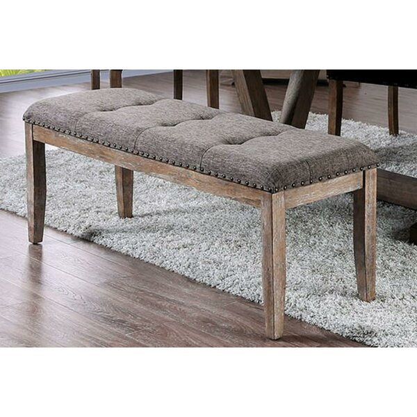Shepherd Rectangular Wood Bench by One Allium Way