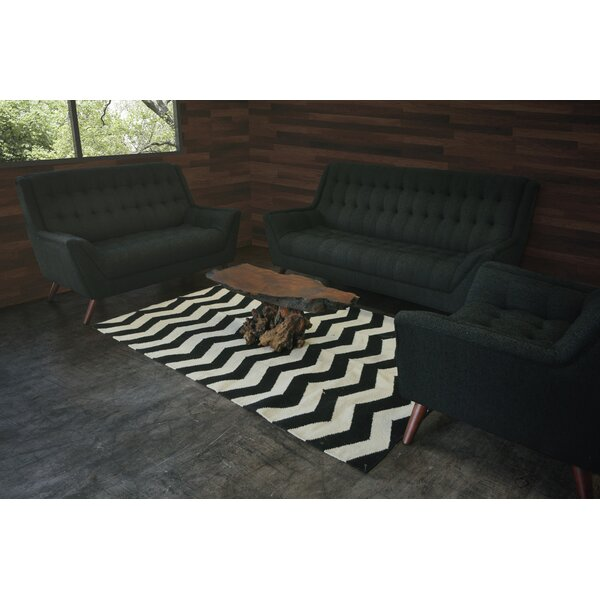 Aldo 3 Piece Living Room Set by Brayden Studio
