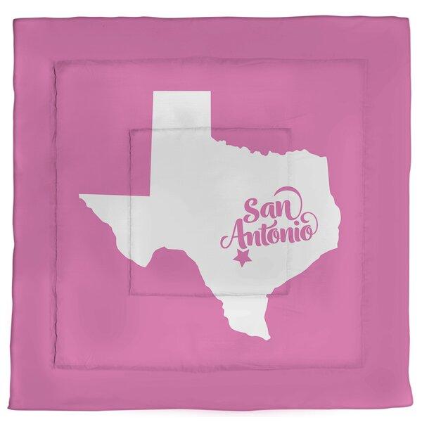 Texas San Antonio Single Reversible Comforter