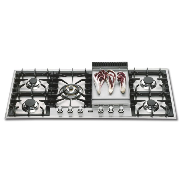 46 Gas Cooktop with 6 Burners by ILVE