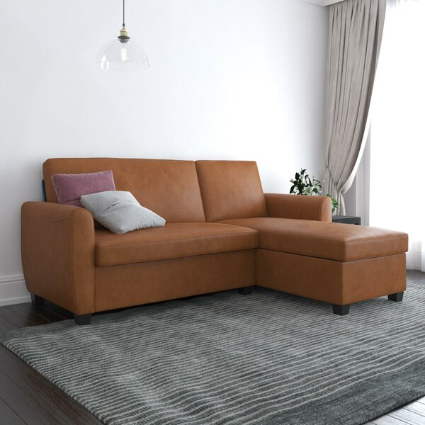 Spector Reversible Sleeper Sectional by Brayden Studio