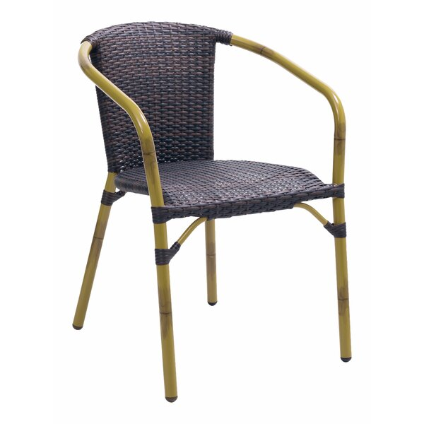 Cafe Stacking Patio Dining Chair By Florida Seating