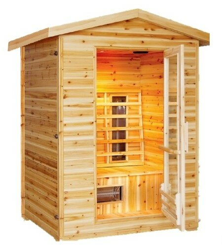 Burlington 2 Person Infrared Sauna by SunRay Saunas