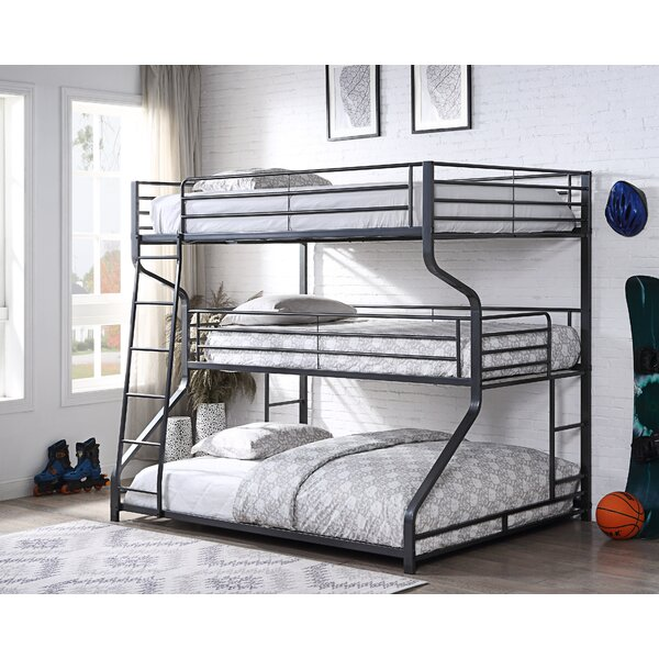 Katy Full/Twin/Queen Triple Bunk Bed by Isabelle & Max