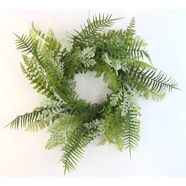 Artificial Fern Wall Hanging 21 Wreath by Ebern Designs
