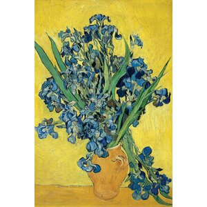 'Irises, 1890' by Vincent van Gogh Painting Print on Canvas by East Urban Home