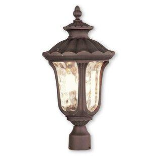 Read Reviews Gunnell Outdoor 1-Light Metal Lantern Head By Three Posts
