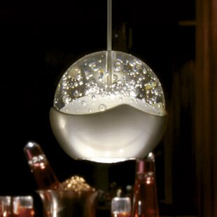 Genesis 1-Light Globe Pendant by WAC Lighting