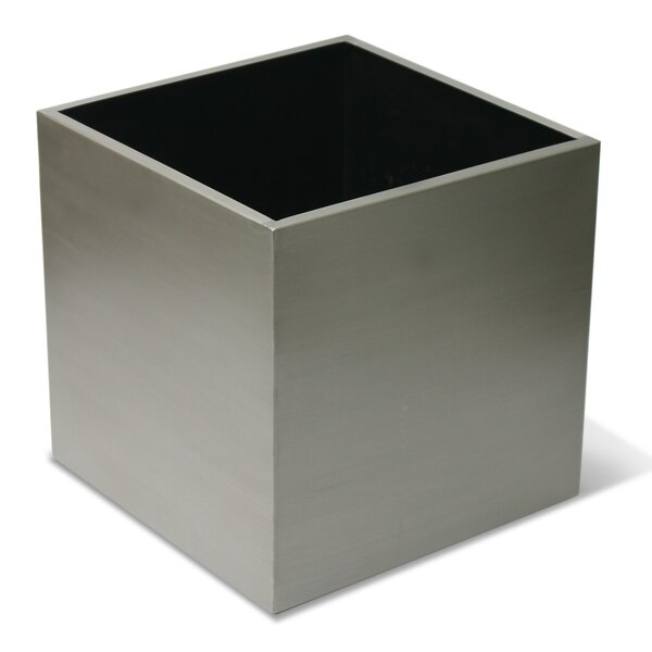Stainless Steel Planter Box by Algreen