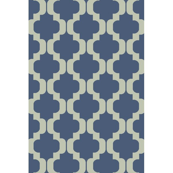 West Harptree Blue Area Rug by Wrought Studio