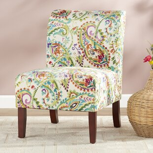 Willimantic Cottage Chic Curved Back Slipper Chair Photo