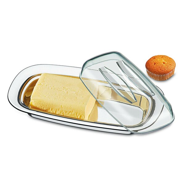 Lyon Stainless Steel Butter Dish by Brinox
