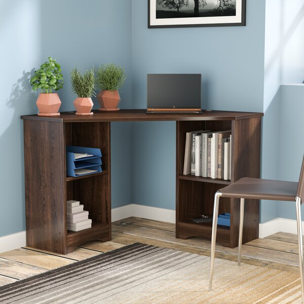 Everett Corner Shape Computer Desk by Zipcode Desi