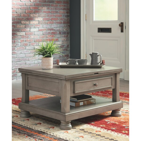 Fuente Coffee Table with Storage by Alcott Hill Alcott Hill
