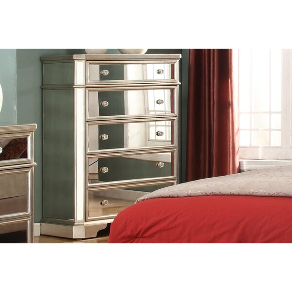 Rojas 5 Drawer Chest by Rosdorf Park