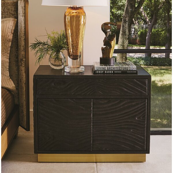 Forest 1 Drawer Nightstand by Global Views
