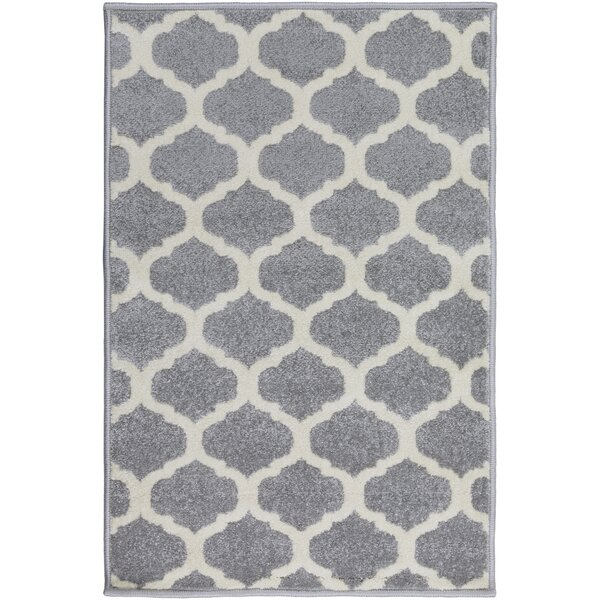 Bogdan Gray Area Rug by Charlton Home