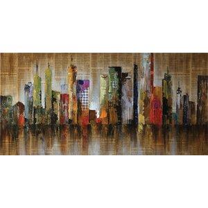 Seaside Metropolitan Graphic Art by Wildon Home ®