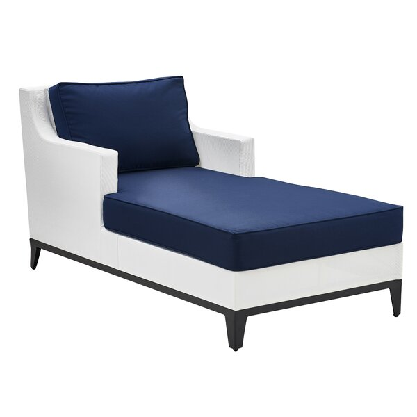 Hampton Chaise Lounge with Cushion by Tommy Hilfiger