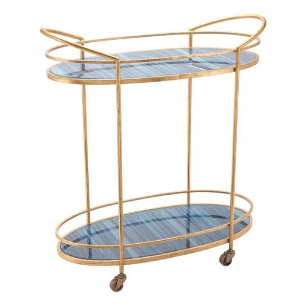 Gibney Bar Cart by Everly Quinn