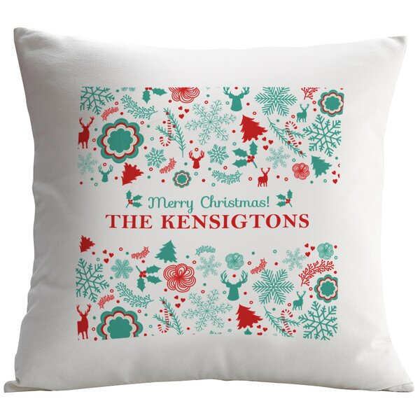 Personalized Pillow Cushion Cover by Monogramonline Inc.