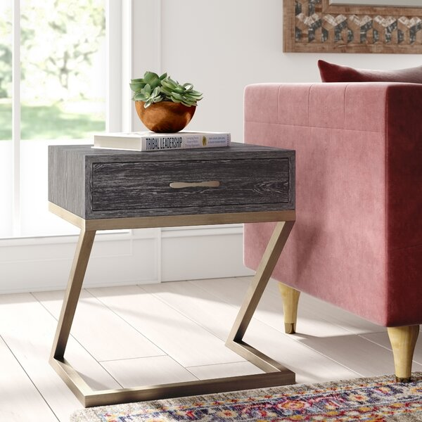 Avalon End Table By Mistana